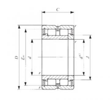 80 mm x 110 mm x 30 mm  IKO NAG 4916 cylindrical roller bearings
