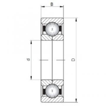 Loyal QJ234 angular contact ball bearings