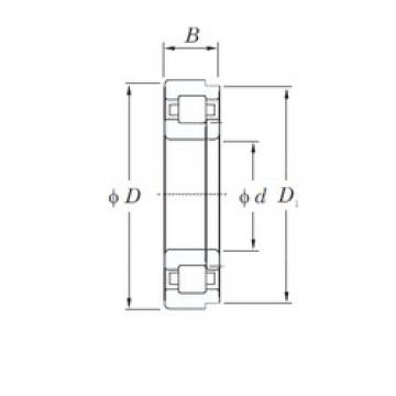 65 mm x 120 mm x 23 mm  KOYO NUP213 cylindrical roller bearings