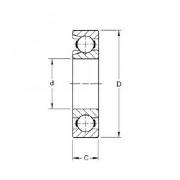 170 mm x 310 mm x 52 mm  Timken 234W deep groove ball bearings