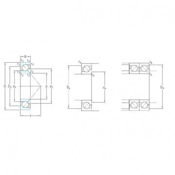 80 mm x 140 mm x 26 mm  SKF 7216BEGAPH angular contact ball bearings